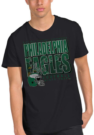 8f881cb46 Junk Food Clothing Philadelphia Eagles Black Classic Fashion Tee