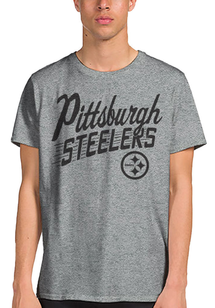 Junk Food Clothing Pittsburgh Steelers Pit Town Fashion Tee