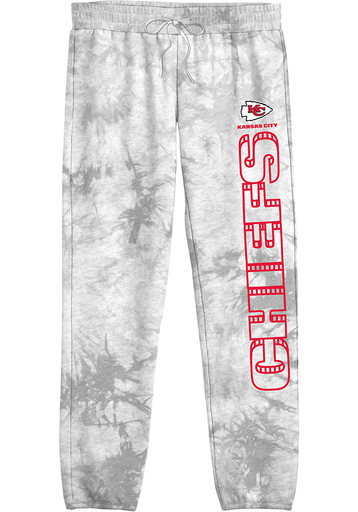 Junk Food Clothing Kansas City Chiefs Womens Playoff Black Sweatpants - Image 1