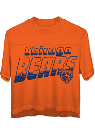 Chicago Bears Womens Junk Food Clothing Champions T-Shirt - Orange