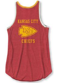 Kansas City Chiefs Womens Junk Food Clothing Touchdown Tank Top - Red