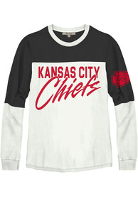 Kansas City Chiefs Womens Junk Food Clothing Comeback T-Shirt - White