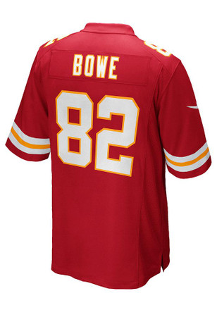 Dwayne Bowe Nike KC Chiefs Mens Red Game Jersey