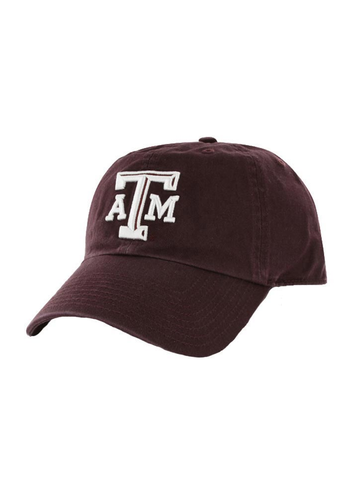 '47 Texas A&M Aggies Clean Up Adjustable Hat - Maroon - Image 1