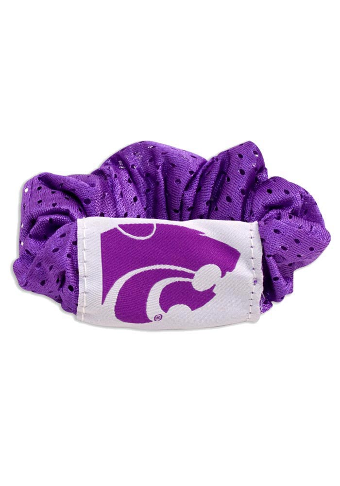 K-State Wildcats Twist Youth Hair Scrunchie - Image 1