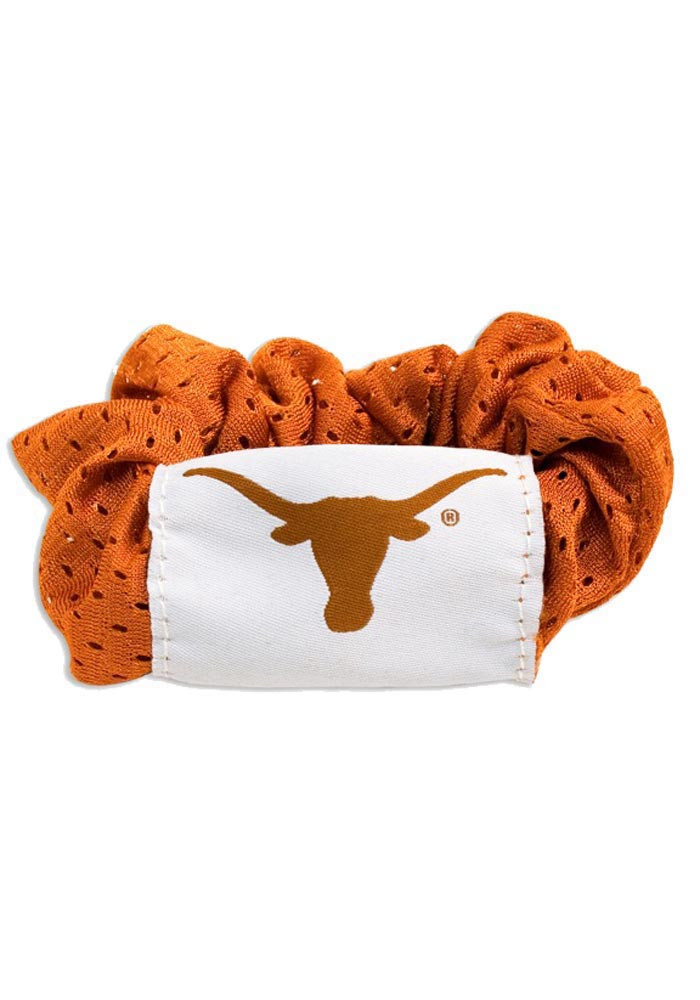 Texas Longhorns Twist Youth Hair Scrunchie - Image 1