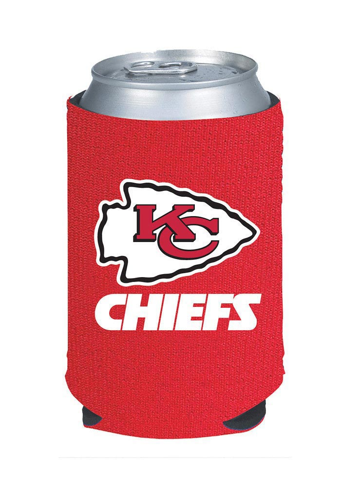 Kansas City Chiefs Red Can Coolie - Image 1