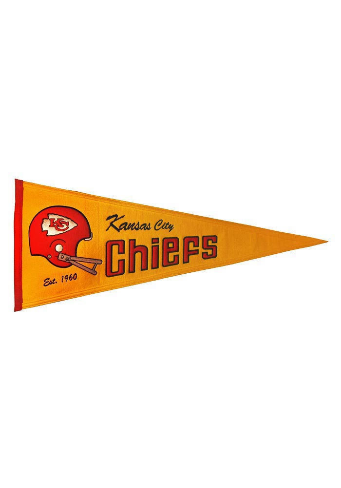 the best attitude 155d6 2e0d3 Kansas City Chiefs Throwback Pennant