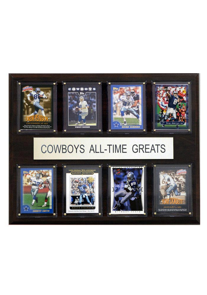 Dallas Cowboys 12x15 All-Time Greats Player Plaque - Image 1