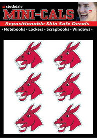 Central Missouri Mules 6 Pack Tattoo