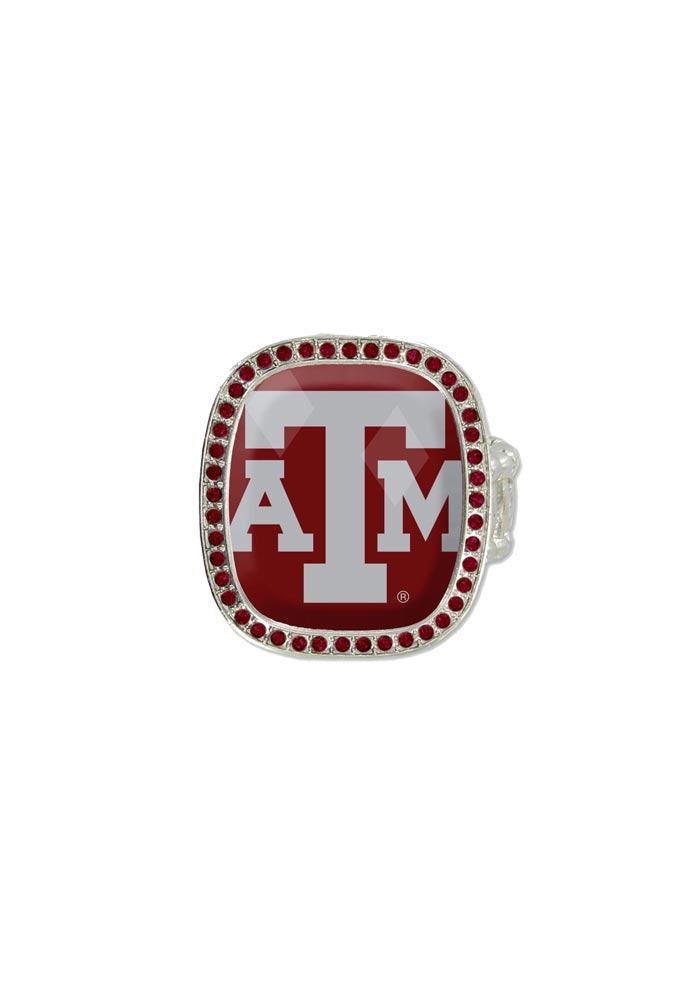 Texas A&M Aggies Bling Logo Womens Ring - Image 1