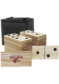 Southern Illinois Salukis Yard Dominoes Tailgate Game