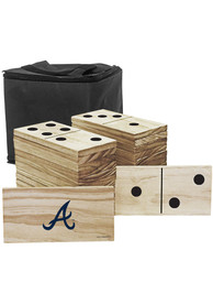 Atlanta Braves Yard Dominoes Tailgate Game