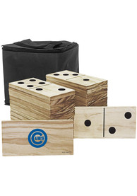 Chicago Cubs Yard Dominoes Tailgate Game