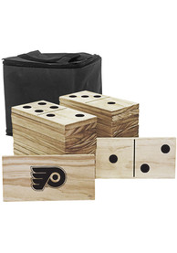 Philadelphia Flyers Yard Dominoes Tailgate Game