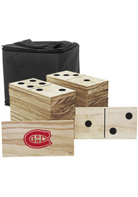 Montreal Canadiens Yard Dominoes Tailgate Game