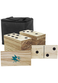 San Jose Sharks Yard Dominoes Tailgate Game