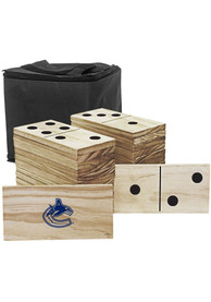 Vancouver Canucks Yard Dominoes Tailgate Game