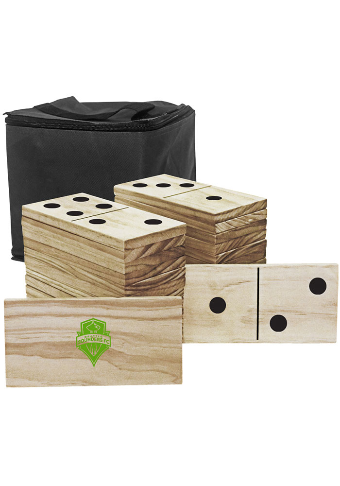 Seattle Sounders FC Yard Dominoes Tailgate Game - Image 1