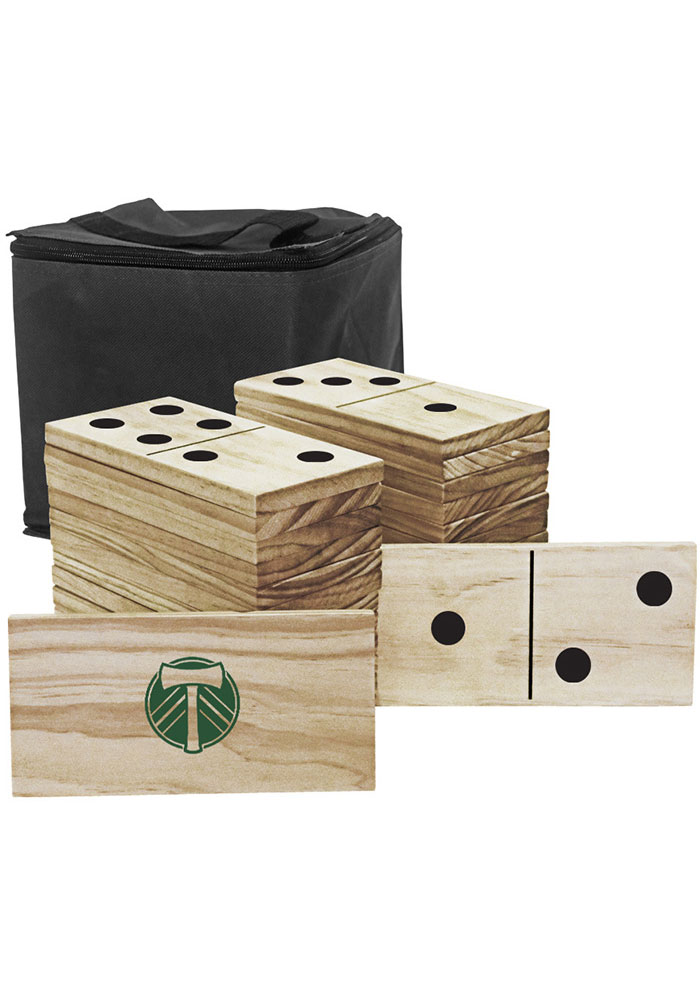 Portland Timbers Yard Dominoes Tailgate Game