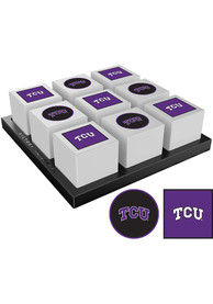 TCU Horned Frogs Tic Tac Toe Tailgate Game