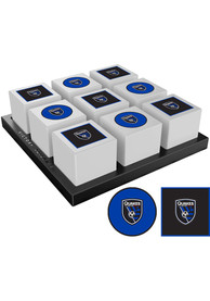 San Jose Earthquakes Tic Tac Toe Tailgate Game