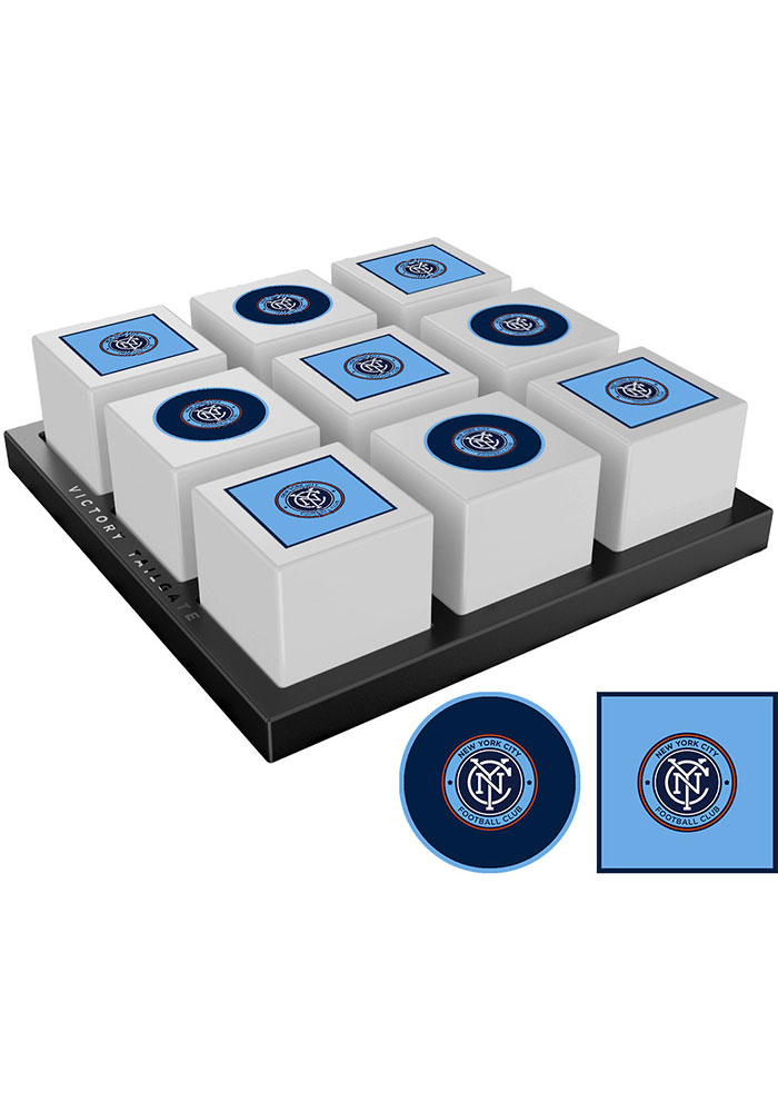 New York City FC Tic Tac Toe Tailgate Game - Image 1
