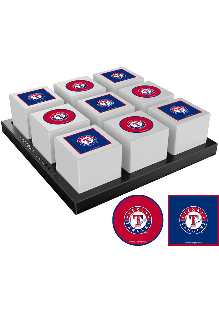 Texas Rangers Tic Tac Toe Tailgate Game - Image 1