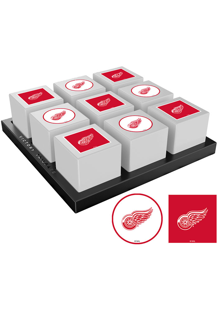 Detroit Red Wings Tic Tac Toe Tailgate Game - Image 1