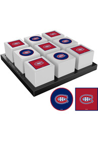 Montreal Canadiens Tic Tac Toe Tailgate Game