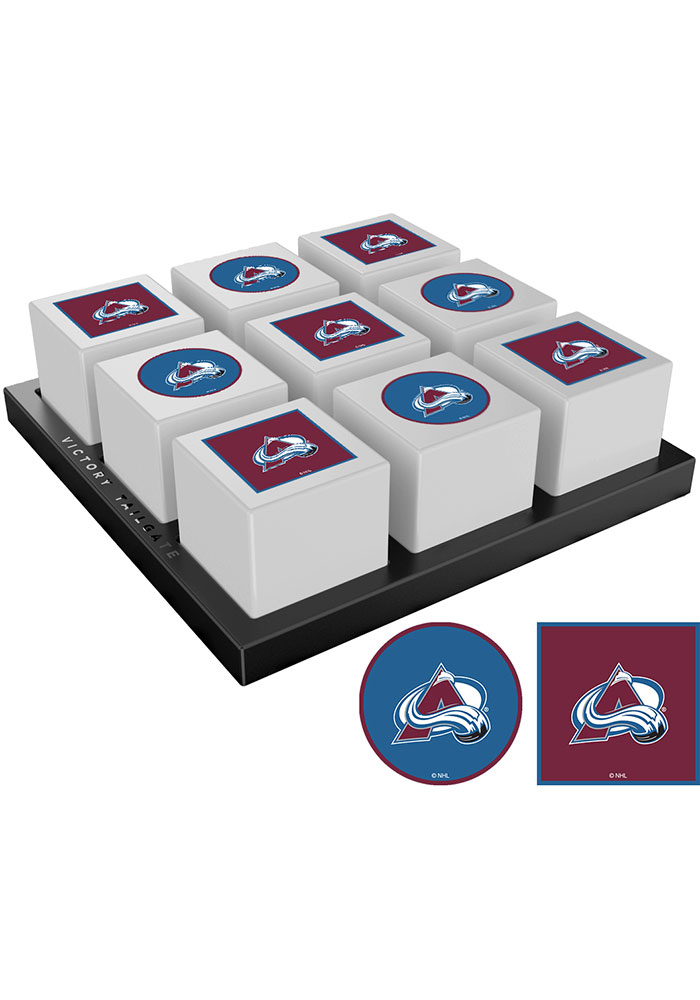 Colorado Avalanche Tic Tac Toe Tailgate Game - Image 1