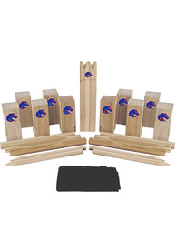 Boise State Broncos Kubb Chess Tailgate Game