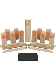 Clemson Tigers Kubb Chess Tailgate Game