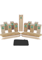 Colorado State Rams Kubb Chess Tailgate Game