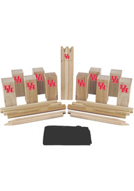 Houston Cougars Kubb Chess Tailgate Game