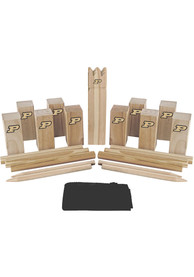 Purdue Boilermakers Kubb Chess Tailgate Game