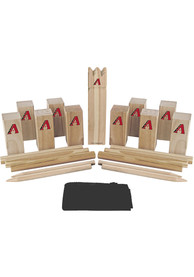 Arizona Diamondbacks Kubb Chess Tailgate Game