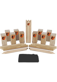 Baltimore Orioles Kubb Chess Tailgate Game