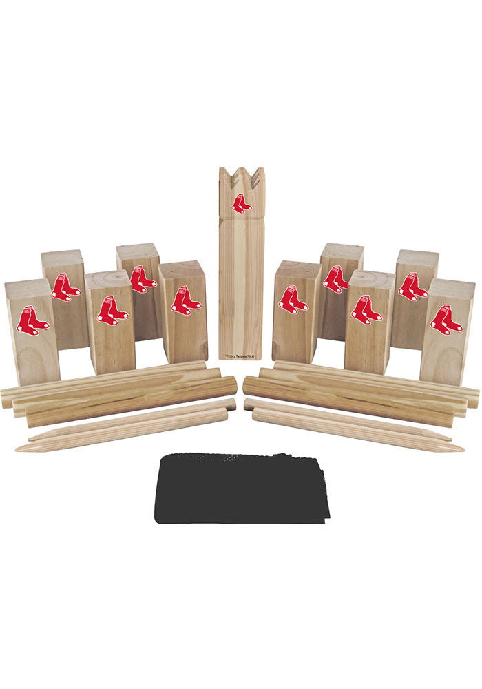 Boston Red Sox Kubb Chess Tailgate Game - Image 1