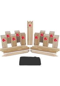 Boston Red Sox Kubb Chess Tailgate Game