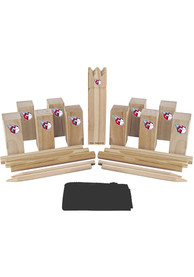 Cleveland Indians Kubb Chess Tailgate Game
