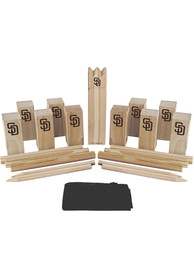 San Diego Padres Kubb Chess Tailgate Game