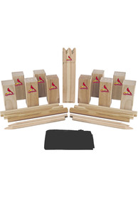 St Louis Cardinals Kubb Chess Tailgate Game