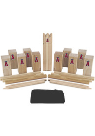 Los Angeles Angels Kubb Chess Tailgate Game