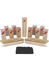 New Jersey Devils Kubb Chess Tailgate Game