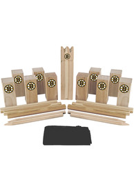 Boston Bruins Kubb Chess Tailgate Game