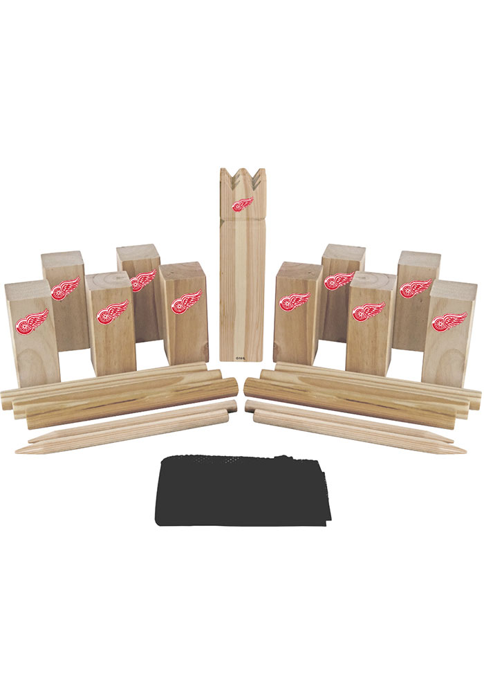 Detroit Red Wings Kubb Chess Tailgate Game - Image 1