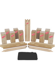 Detroit Red Wings Kubb Chess Tailgate Game