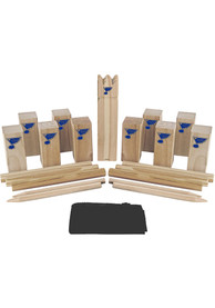 St Louis Blues Kubb Chess Tailgate Game