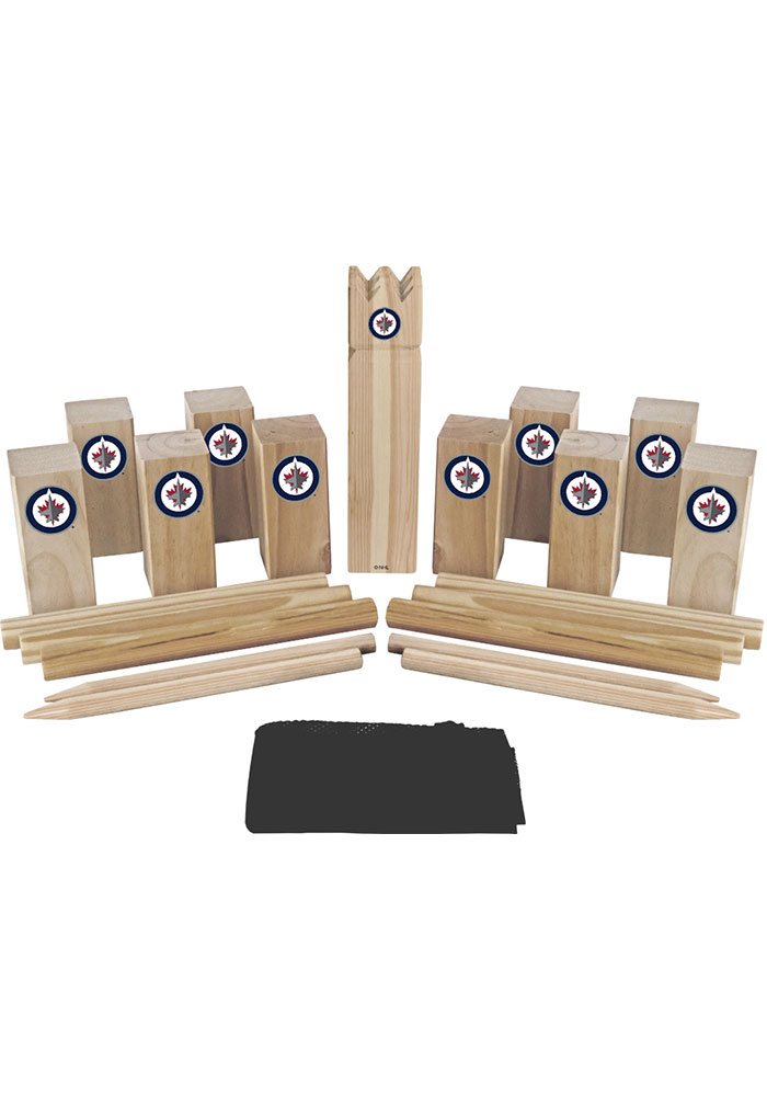 Winnipeg Jets Kubb Chess Tailgate Game - Image 1